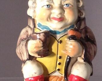 Vintage Toby Jug Polychrome King George Miniature