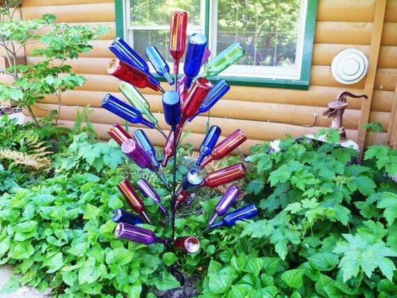 Bottle Tree 28 branch - Big Country Tree - Yard Garden Art