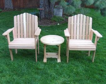 Cedar garden chair