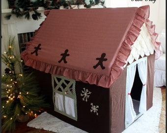 Custom medium Gingerbread Playhouse, cyber Monday christmas similiar to be made