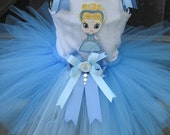 Blue cutie princess tutu set