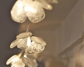 Glass Fairy Lights - glass with white glass dust, large