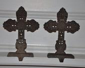 SALE- Cross Stocking / Wreath Hangers (Set of 2)
