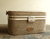 Tweed Train Case
