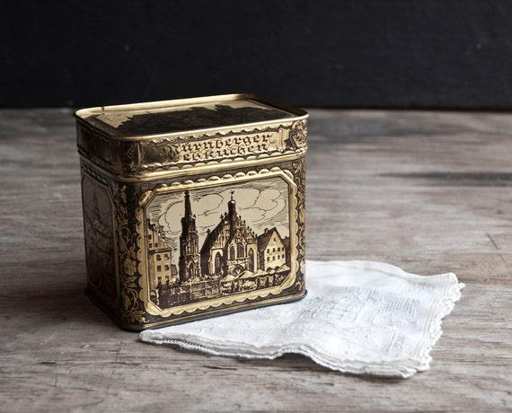 Metal Tin - Germany - Tea Cookie Nurnberger