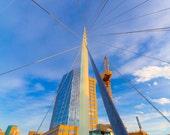 10x15 Photograph - Denver Millennium Bridge, Colorado