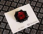 Scarlet Poppy Bow