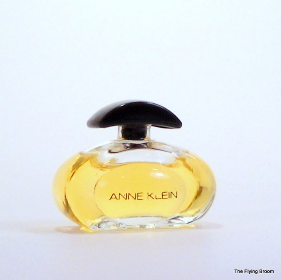 Vintage Anne Klein Perfume Miniature Bottle, Mini Perfume Bottle