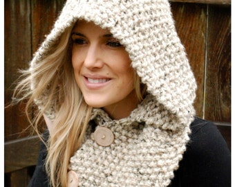 Crochet Unicorn Hooded Scarf Pattern : Crochet PATTERN-The Ulyne Unicorn Hooded Scarf by Thevelvetacorn