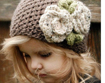 Crochet PATTERN-The Braelyn Warmer (Toddler, Child, and Adult sizes)