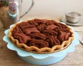 Felt Pecan Pie