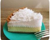 Felt Coconut Cream Pie