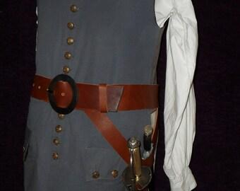 18th century militia or pirate Swordbelt c.1700