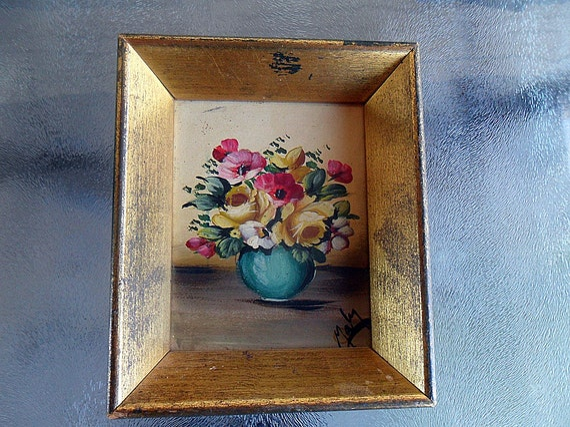 Original Vintage Oil Painting/Peter Perazzo NYC