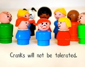 Cranks Will Not Be Tolerated, Print No. THIRTY-EIGHT, custom text