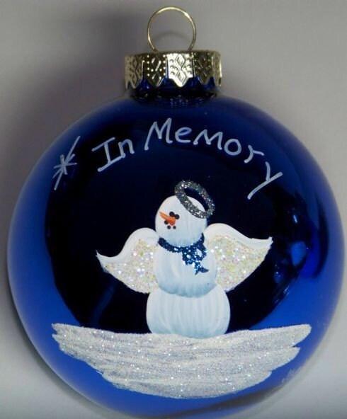 Memorial Angel Christmas Ornament