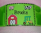 Children's Personalized Farm Lap Tray