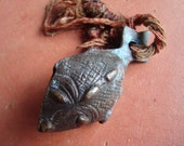 Fish bell, protection bell, Tibetan doordecoration, fish keyhanger, fish symbol, animal bell, decorative bell, Strongbell, Asian bell, fish