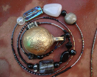 dangle beaded Indian cow bell .... Strongbells around the world .........