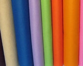 2 Yards Wool Blend Felt - Your Choice of Colors