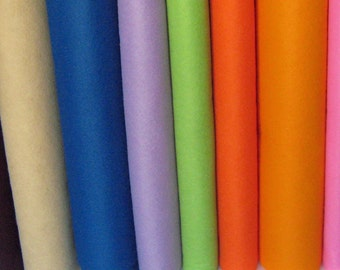 3 Yards Wool Blend Felt - Your Choice of Colors