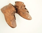Bronzed Baby Shoes: Bronze Shoes