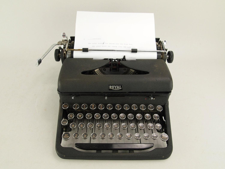 The Room  Typewriter