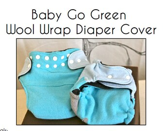 Wool Diaper Cover...PDF Pattern