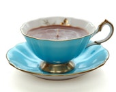 Queen Anne Teacup Candle