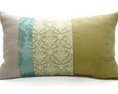 Maison Fancy 4-Panel  Pillow - 18in Pear