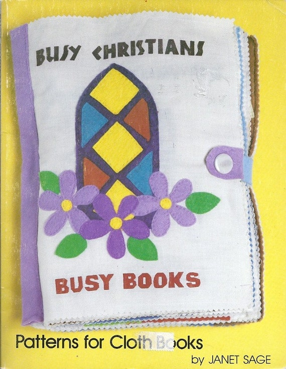 Children S Fabric Book Cover : Christian theme soft fabric busy book for children pattern