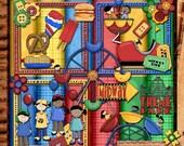 Theme Park - Digital Scrapbooking - Clip Art - Digital Papers