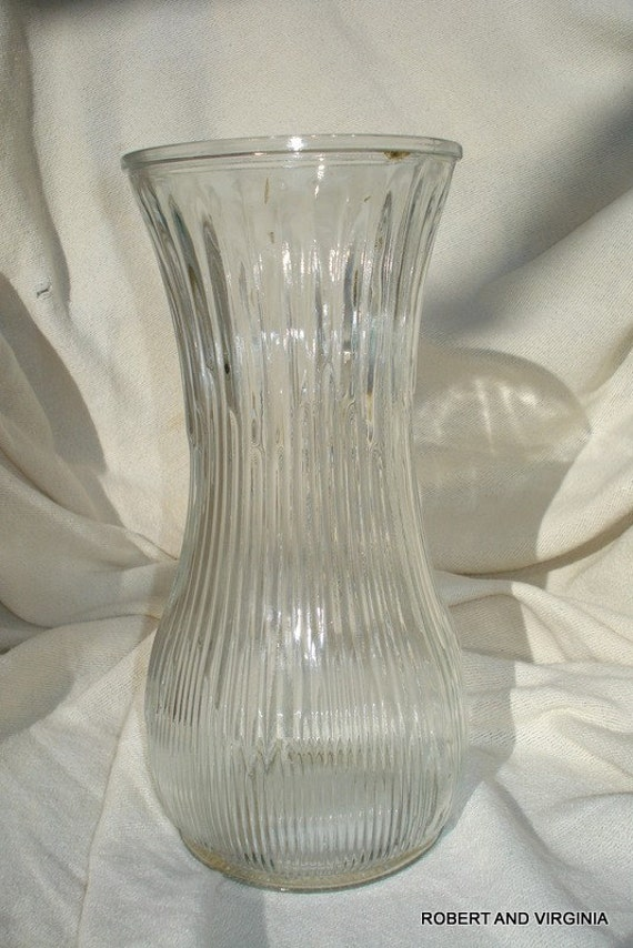 Hoosier Glass Vase 4087 Ahoosier Glass Clear Vase 4087 A Columns