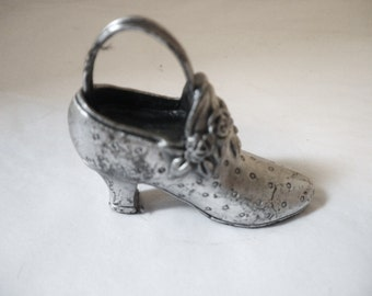 Collectible Pewter Shoe