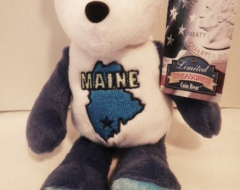 Collectible Maine State Coin Bear