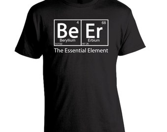 Beer Shirt, Periodic Table, Craft Beer Shirt, Funny Beer Shirt, Beer Festival, Element Shirt, Birthday, Fathers Day Present, Christmas Gift