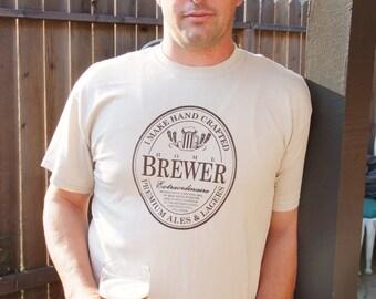 Home Brewer Seal Homebrew T-Shirt - Oktoberfest Birthday Christmas Gift