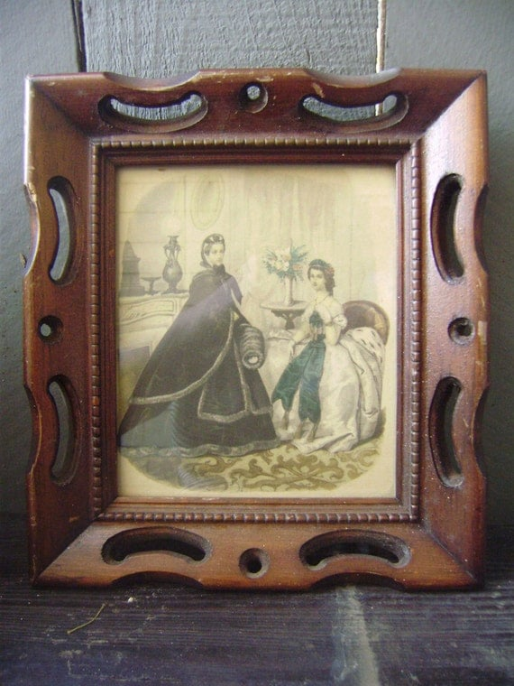 Vintage Framed Ladies