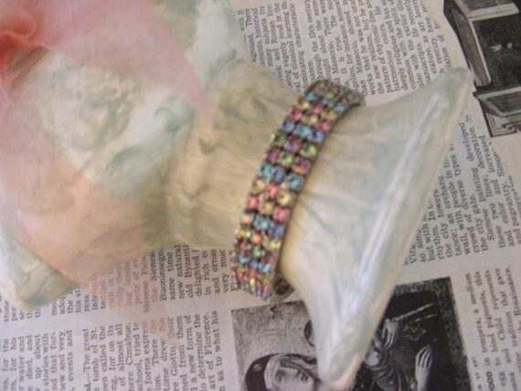 Vintage Rhinestone Bling Bracelet