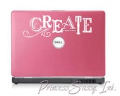 CREATE Decal for Laptops, Macs, Notebooks, Walls, Home Decor - Stampin Up Design