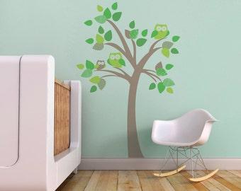 Nursery Tree Decal Etsy - Nursery wall decals tree