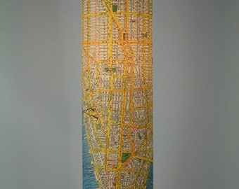 NYC Map Lamp