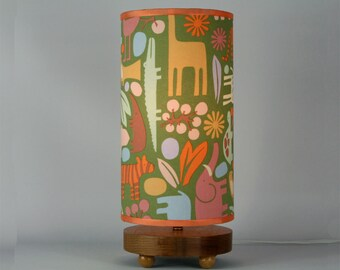 Green Zoo Table Lamp