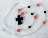 Black Onyx Celtic Cross (On Sale)