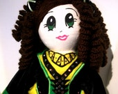 Custom Made Reel Cutie Irish Dancer Doll