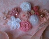 JUST PEACHY--Pinky Peach Maternity/Bridal Sash--Photography Prop
