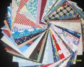 50- 4 inch quilting squares- no dups