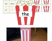 Popcorn Words Learning Centers - Download - K-2 - The Original Popcorn Word Set