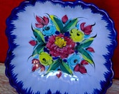 Vintage portuguese Handpainted Bowl-Made in Portugal 427