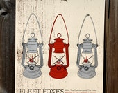 Fleet Foxes show poster - ok, this really is the last one i have for sale.